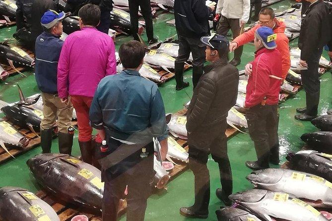 Mafia Tuna Auction Tour and Special Access at Toyosu Fish Market