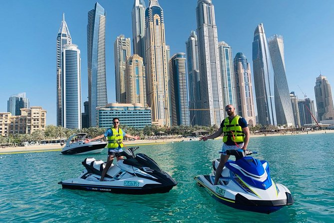 Dune Buggy Dubai With Jet Ski Ride Combo Package