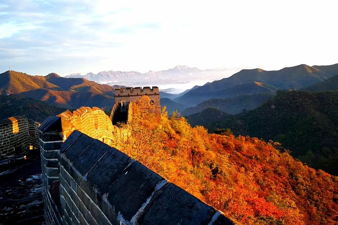 The Great Wall of Jinshaling sunset PRIVATE all-inclusive guided from Beijing