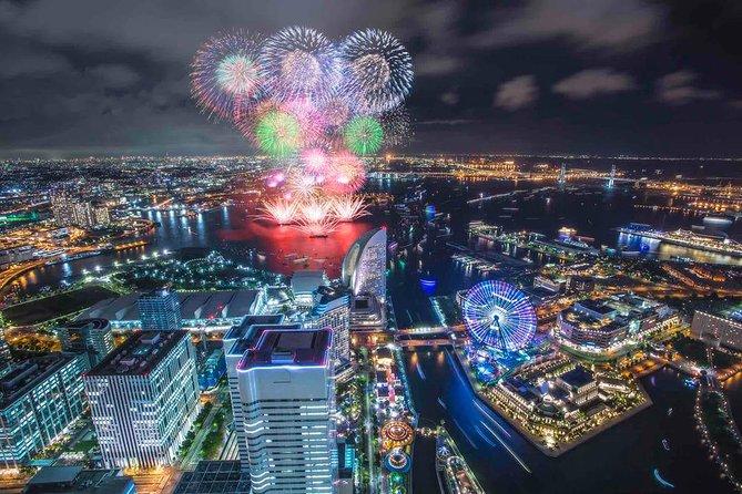 [30 Minutes] Yokohama Tour: Yokohama-Tokyo Night City Helicopter Tour (Longer)