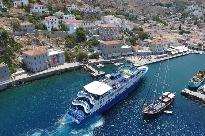 Hydra-Poros-Aegina Islands One Day Cruise With Live Music Dancing & Buffet Lunch