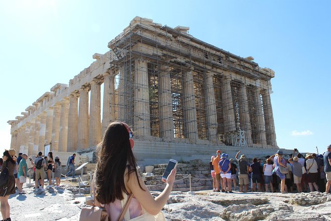 Entry e-tickets for the Top Ancient Athens Attractions and 3 Audio Tours