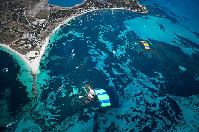 Rottnest Skydive + Perth Barack St Ferry package