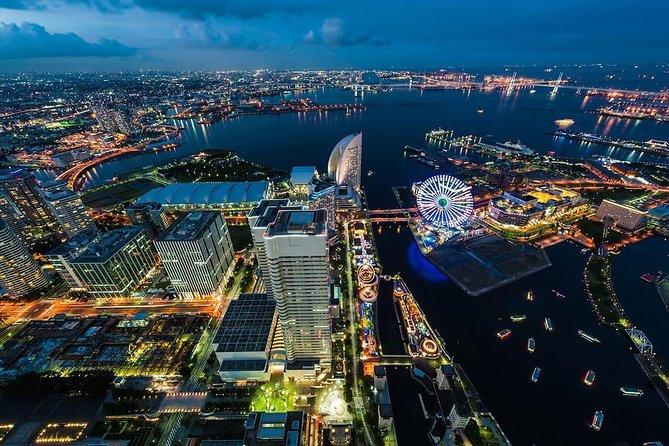 [10 Minutes] Yokohama Tour: Yokohama Night City Helicopter Tour