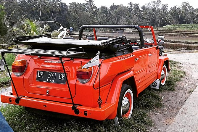 Visit East Bali by Convertible Volkswagen