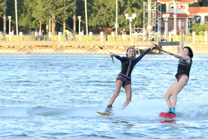Lianchitan cable water skiing experience - two hours