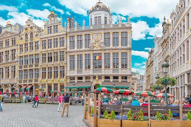 Round Trip Private Transfer Brussels Airport BRU to Mechelen City by Luxury Van