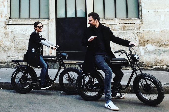 Parisian ride with Awsome electric bicycle photo 8