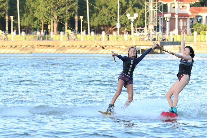 Lianchitan cable water skiing experience - full day