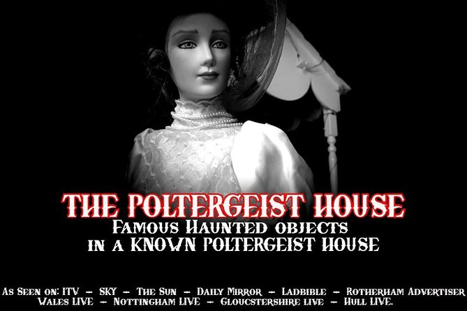 Open Day 13th July - Haunted Objects Museum - Poltergeist House photo 1