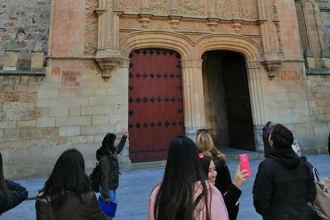 Avila from Salamanca with drop off in Madrid