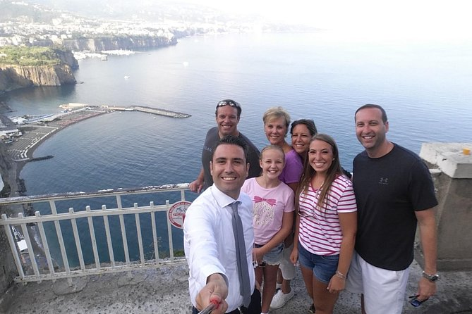 Transfer From Naples To Sorrento With Stop In Pompeii 2h