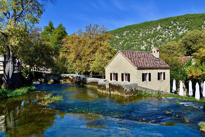 NP Krka waterfalls from Zadar shore excursion private tour