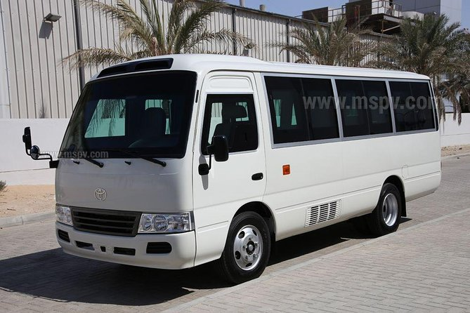 we provide transport service by 29 seated coaster buss for all UAE tour