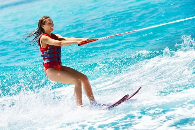 Water ski Professionals Hit the surface of Red Sea Private transport - Hurghada