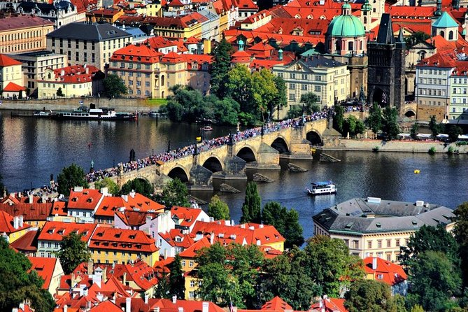 Half-Day Private Tour of Prague Old Town + River Cruise by Luxury Mercedes