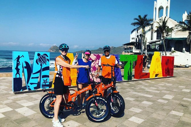 Mazatlan on an Electric Bicycle. Travel more, Enjoy more!