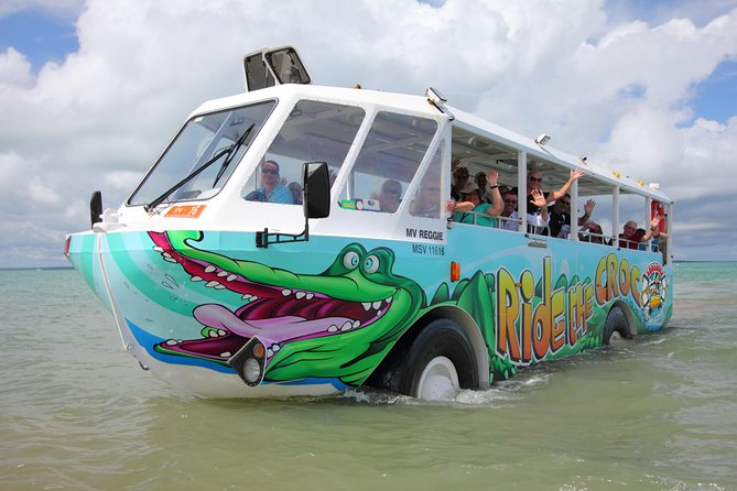 Airlie Beach by Land and Sea aboard the Aquaduck Croc Bus photo 4