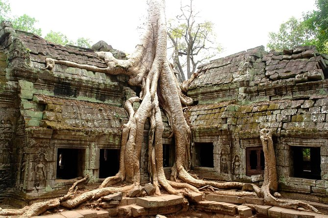 Angkor Wat Complex By Private Car