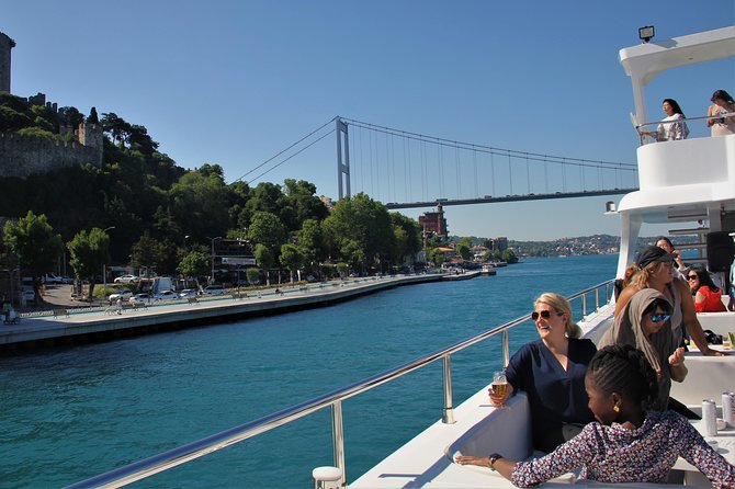 Istanbul Lunch Cruise - Extended Bosphorus Cruise up to the Black Sea