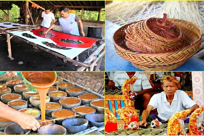 Meet Local Batik Painters,Sugar Maker,Basket Weavers & Musician