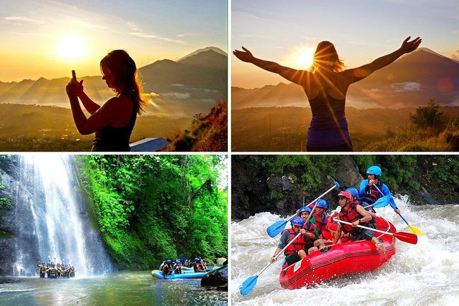 Amazing Bali Sunrise Trekking and Ayung White Water Rafting