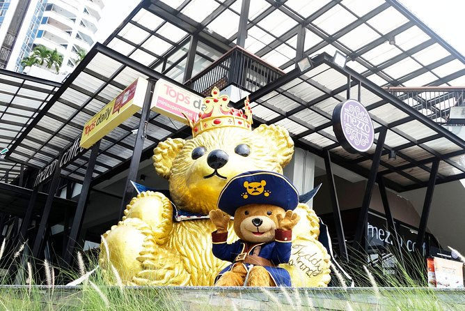 Pattaya Kids Special: Teddy Bear Museum Tickets & Optional Hotel Pickup