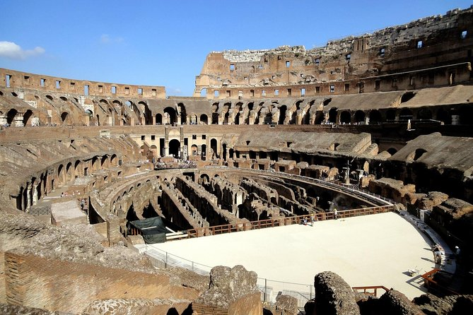 Arena, Colosseum, Roman Forum and Palatine Hill: guided tour with priority access