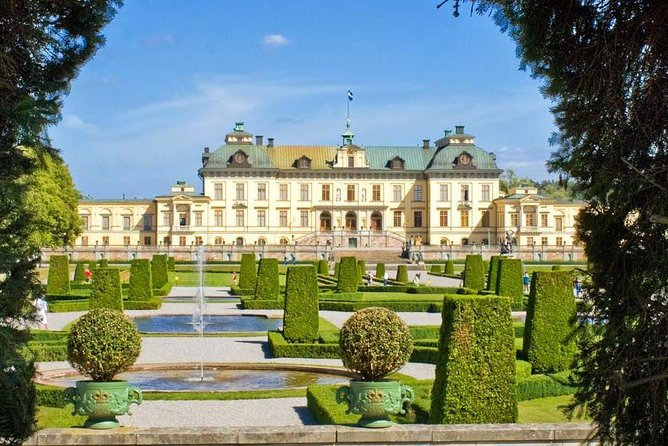 Visit to Drottningholm palace by VIP car with private guide Stockholm