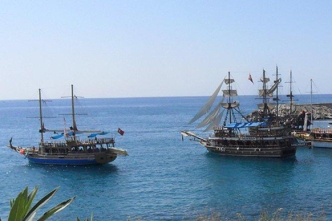 El crucero Alanya incluye almuerzo / refrescos y transporte de ida y vuelta