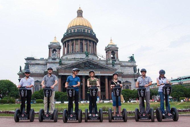Segway tour St. Petersburg - Major route