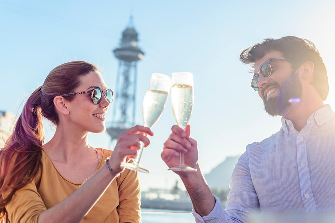 Sailing Adventure from Barcelona to the vineyards, winery tour and wine tasting