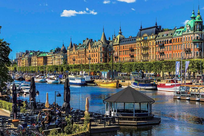 Stockholm City Tour with Drottningholm by Private car with guide