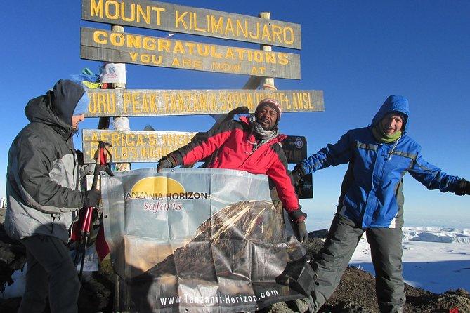 Machame Route, 6 days scheduled trekking tour + 2 nights hotel stay