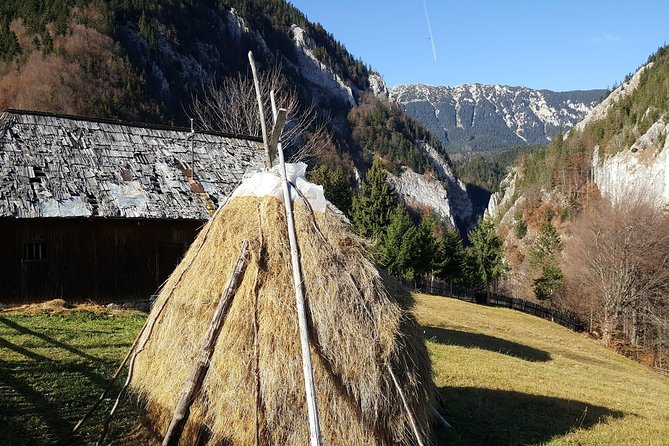 Trekking rural villages from Brasov