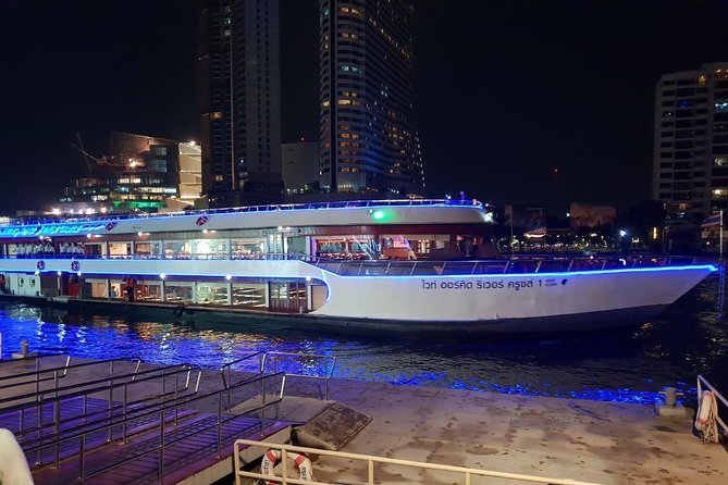 White Orchid Dinner Cruise from Bangkok with Classical Dance & Live Music