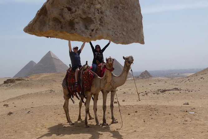 Giza Pyramids, Sphinx & Camle Riding tour