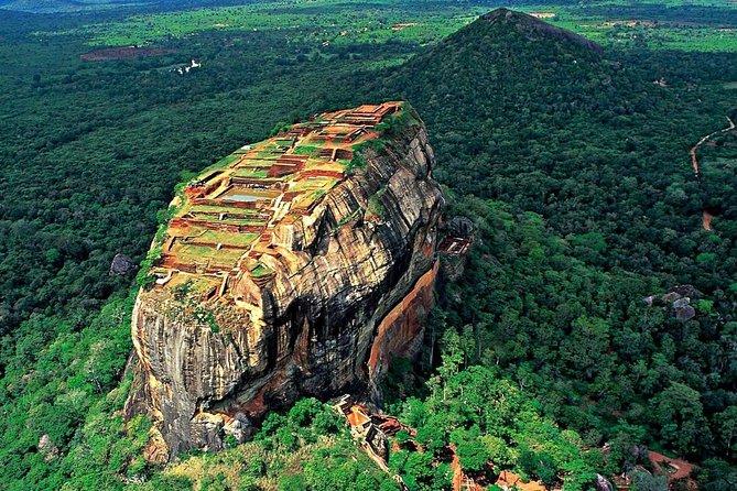 Sigiriya Rock Fortress and Jeep Safari, Day Tour From Colombo.
