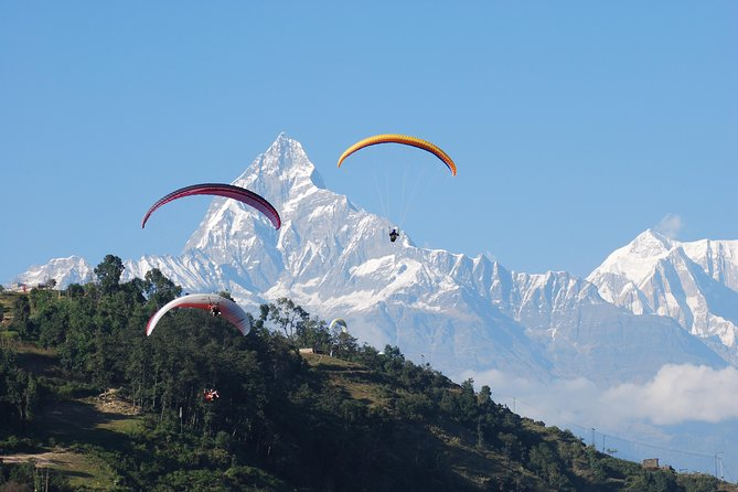 Paragliding in Pokhara- Panoramic view