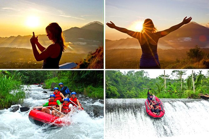 Amazing Bali Sunrise Trekking and Telaga Waja Rafting