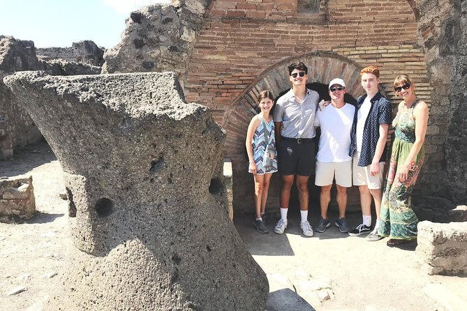 Pompeii and Herculaneum Private Tour with Native Guide and Skip the Line Tickets