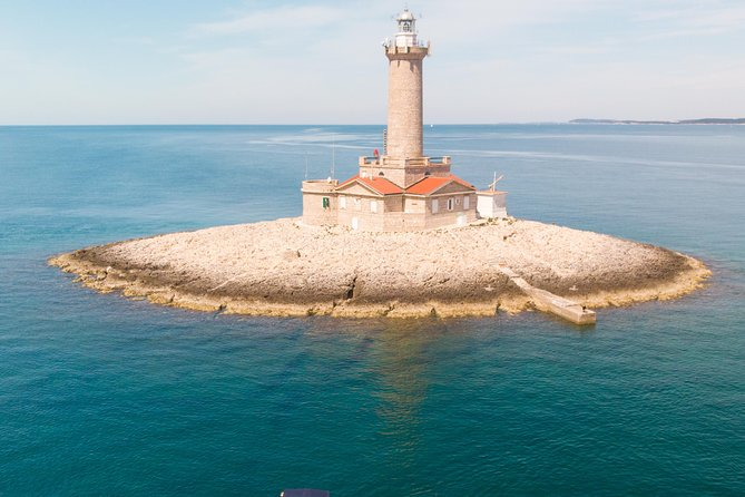 Seagull Rocks – Cape Kamenjak - caves - canyons – speedboat tour form Pula