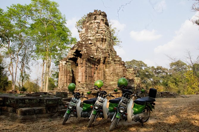 Preah Khan and Angkor Jungle Adventure by Green Honda Motorbike (Grand Circle)