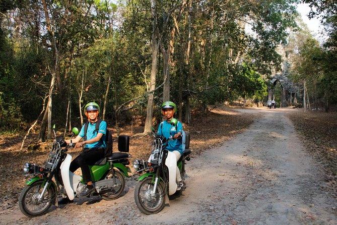 Preah Khan and Angkor Jungle Adventure by Green Honda Motorbike (Grand Circle)
