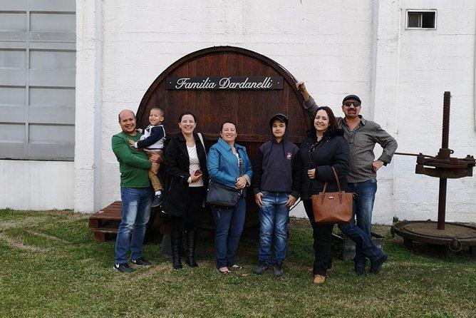 Visita particular à vinícola uruguaia + almoço + degustação de vinhos (mínimo 5 pessoas)