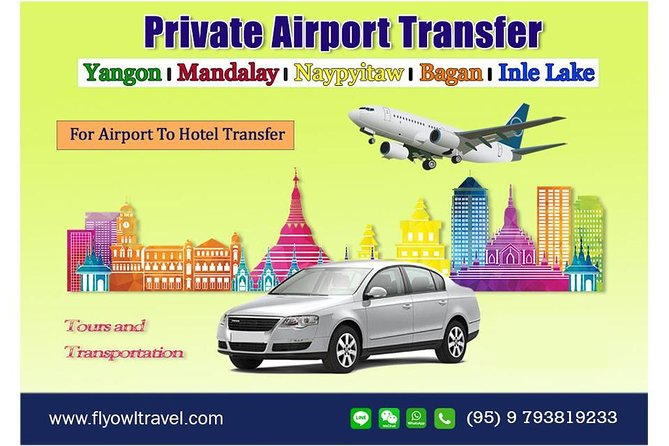 Yangon Airport Private Arrival Transfer photo 1