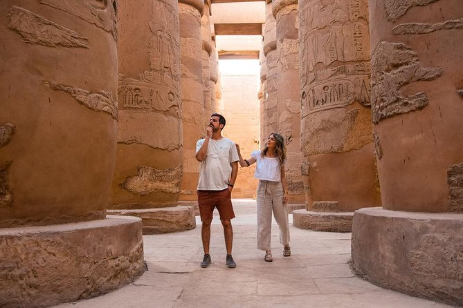 Cairo :Luxor East and West Banks Guided Tour & Overnight Sitting Train
