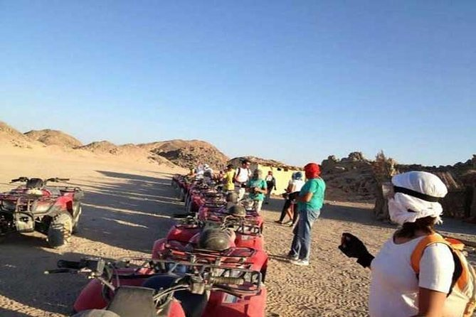 Sharm El-Sheikh : Quad Bike & Desert Safari Adventure with Transfers photo 1