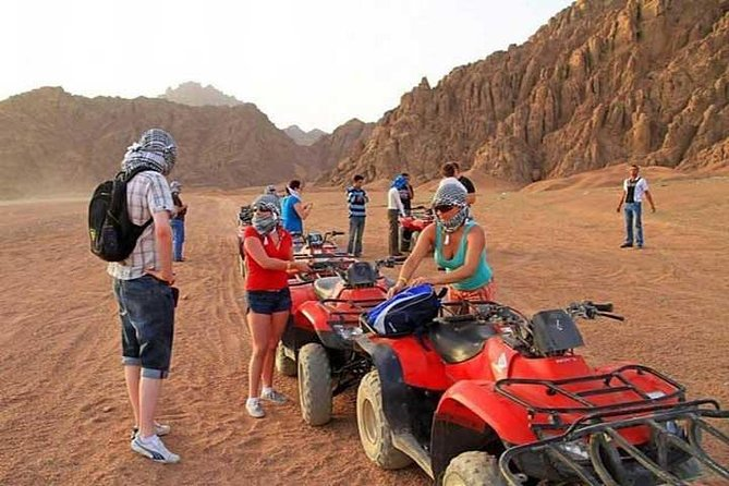 Sharm El-Sheikh : Quad Bike & Desert Safari Adventure with Transfers photo 5