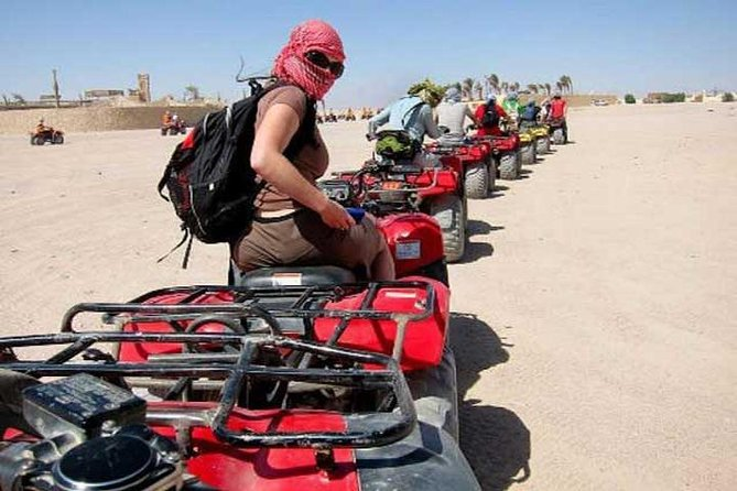 Sharm El-Sheikh : Quad Bike & Desert Safari Adventure with Transfers photo 7